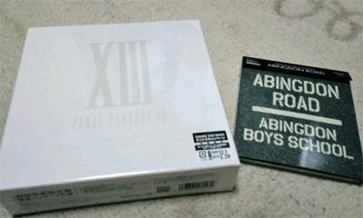 FFXIIIサントラ & abs新譜